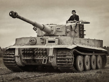 WW2 Photo WWII  German Tiger I Pzkpfw. VI Panzer  World War Two Wehrmacht / 4167
