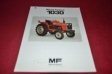 Massey Ferguson 1030 Tractor Dealer's Brochure DCPA6