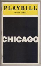 """Chicago""  Playbill  1999   Broadway  Revival  Sandy Duncan, Mamie Duncan-Gibbs"