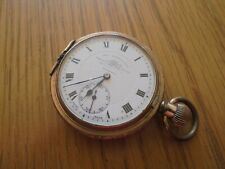 antique gold plated pocket watch