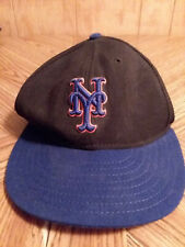 MLB New York Mets Cap Hat 59/50 On Field Wool Size 7 Authentic Diamond Collectio