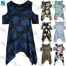 Unbranded Viscose Plus Size Short Sleeve Women's Tops & Shirts