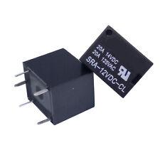 US Stock 10pcs SRA-12VDC-CL DC 12V Coil 20A PCB General Purpose Relay 5 Pin