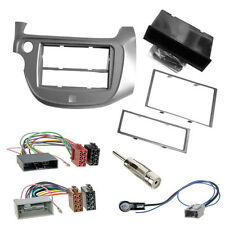 Auto Radioblende Rahmen + ISO Kabel Antennen Stecker HONDA Jazz ab2009 Einbauset