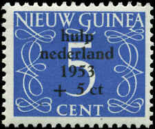 Netherlands New Guinea Scott #B1 Mint  Cats $12