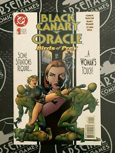 Black Canary Oracle Birds of Prey #1 (1996) NM Batman Poison Ivy DC Comics