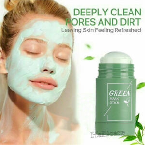 Green Tea Purifying Mask Oil Control Anti-Acne Solid Deep Cleansing Mud Mask