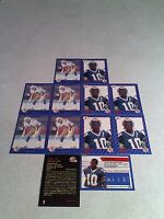 *****Rod Hill*****  Lot of 20 cards.....3 DIFFERENT / Football / CFL