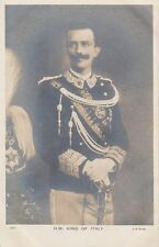 FOREIGN ROYALTY :H.M. The King of Italy  RP-BEAGLES