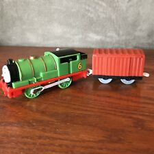 Thomas & Friends Trackmaster Percy Engine With Cargo Car! Tested & Working!