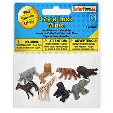 Wild Fun Pack Mini Good Luck Figures Safari Ltd NEW Toys Animals Education