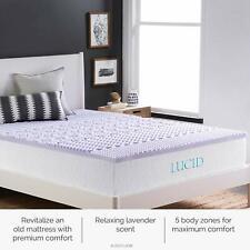 Memory Foam Mattress Twin Bed in Box Twin 2 Inch Mattress Topper