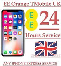 ORANGE / T-MOBILE / EE UK IPHONE X  100% FACTORY UNLOCK IN 24 HOURS