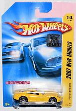 HOT WHEELS 2007 NEW MODELS FERRARI 599 GTB #14/36 YELLOW FACTORY SEALED W+