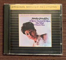 Aretha Franklin I Never Loved A Man MFSL Original Master Recording CD 1993 EX