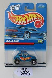 Hot wheels HW Baja Bug Blue collector #835 FNQHotwheels FJ553