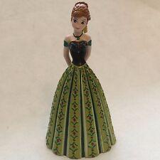 Disney Store Authentic CORONATION ANNA FIGURINE Cake TOPPER Toy FROZEN NEW