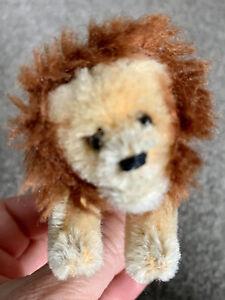 Antique Schuco Noah's Ark Miniature Mohair Lion Jointed Excellent Buy Now!