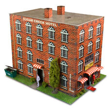 """BK 4807 1:48 Scale """"Hotel"""" Photo Real Scale Building Kit Innovative Hobby Supply"""