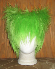GREEN KITTY CAT FUR EARS HAT FESTCOSPLAY ANIME BURNER EDM FESTIVAL SEAHAWKS WIG