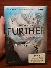 Further DVD Blue Ray Jeremy Jones Snowboard Teton Gravity Research TGR Sports