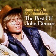 JOHN DENVER - SUNSHINE ON MY SHOULDERS: THE BEST OF JOHN DENVER  2 CD NEW+