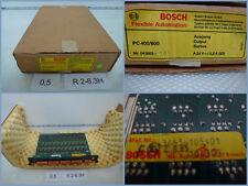Bosch 043663-105401 Bosch PC 400/600 A24=/0,2A Output-Modul unbenutzt in OVP