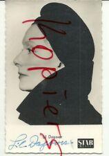 Lil Dagover, Unterschrift auf Star Revue Foto Karte