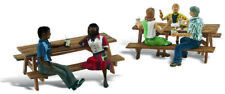 Woodland Scenics HO Scale Scenic Accents Figures/People Set Outdoor Dining (5)