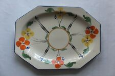 Vintage Wilkinson England Honeyglaze  Plate Dish Nut/Sweets Retro Hand Painted