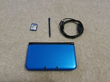 Nintendo 3DS XL Video Game Console Metallic Blue With SD Card, Cable & Stylus