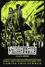 Streets Of Fire Movie Poster 24x36