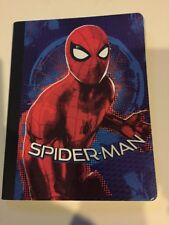 Spider-Man Composition Book 100 Sheets Wide Ruled Marvel Notebook BTS NEW Gift