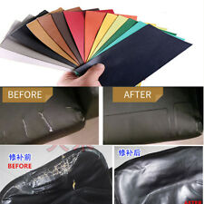Leather Repair Patch First Aid Fix Rips Car Seat Sofa Furniture Adhesive 15*25cm