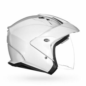 Bell MAG-9 Helmet DOT Mens Womens Motorcycle Street Bike Harley Retro Classic MX