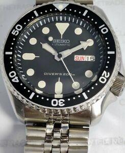 PRE-OWNED SEIKO SCUBA DIVER 7S26-0020 SKX007 AUTOMATIC MEN'S WATCH 784797