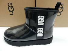 UGG Womens Classic Clear Mini Black 9