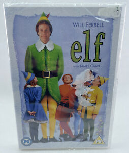 Elf - New & Sealed DVD - Will Ferrell/James Caan - Christmas Movie/Film - A4