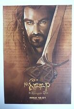 The Hobbit: An Unexpected Journey IMAX Poster Thorin Oakenshield A3+