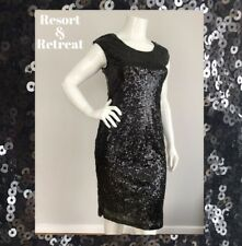 Black Sequin Evening Dress, Size 14, Elegant, Formal, Evening, Party Dress
