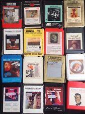 Lot de 16 cassettes Stéreo 8 - 8 tracks stereo tapes cartridges