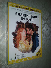 cofanetto+DVD Nuovo film-Shakespeare in love Gwyneth Paltrow