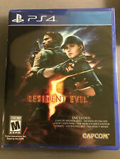 Resident Evil 5 includes all DLC Playstation 4 PS4 BRAND NEW SEALED *FAST SHIP*