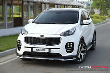 FRP Front Lip Style Body kit Parts Unpainted For Kia Sportage QL 2016~18