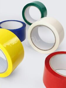 Coloured Polyprop packing tape 48mm x 66m