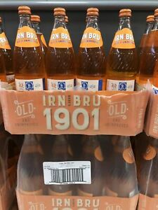 Irn Bru 1901 Full Sugar Limited Edition No Sweetners (BB 2021 JAN) FREE DELIVERY