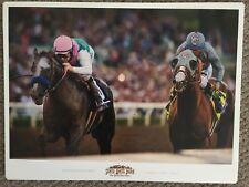 Mike Smith Arrogate 24 x 18 Poster Breeders Victor Espinoza Califorina Chrome