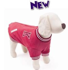 KAZOO COLLEGE JACKET DOG / JUMPER RED SIZE 33.5 CM  FREE POST