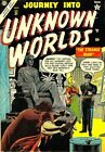 Journey Into Unknown Worlds 31 Comic Book Cover Art Giclee Repro on Canvas