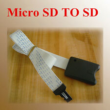 Micro Sd To Sd Card Extension Cable Adapter Flexible Extender Sdhc/Mmc/Rs-Mmc Cy